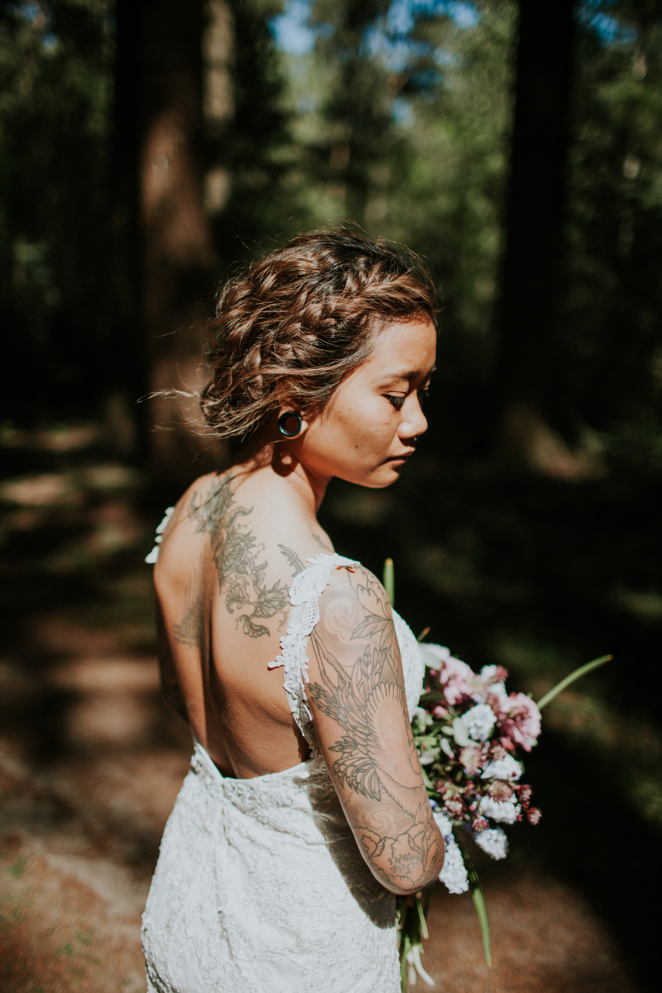 Bruidskapsels - bos