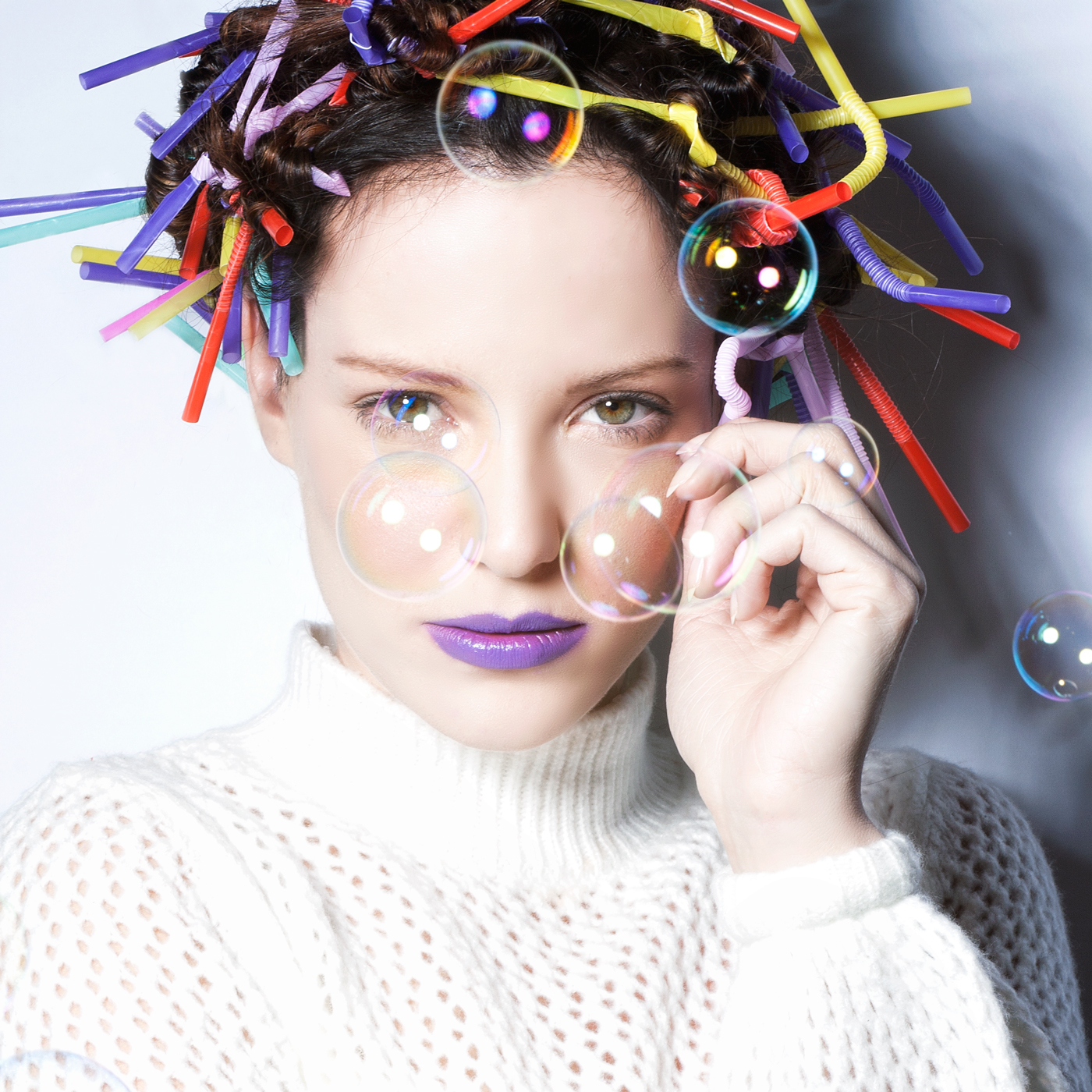 Fashion shoots - bubbles