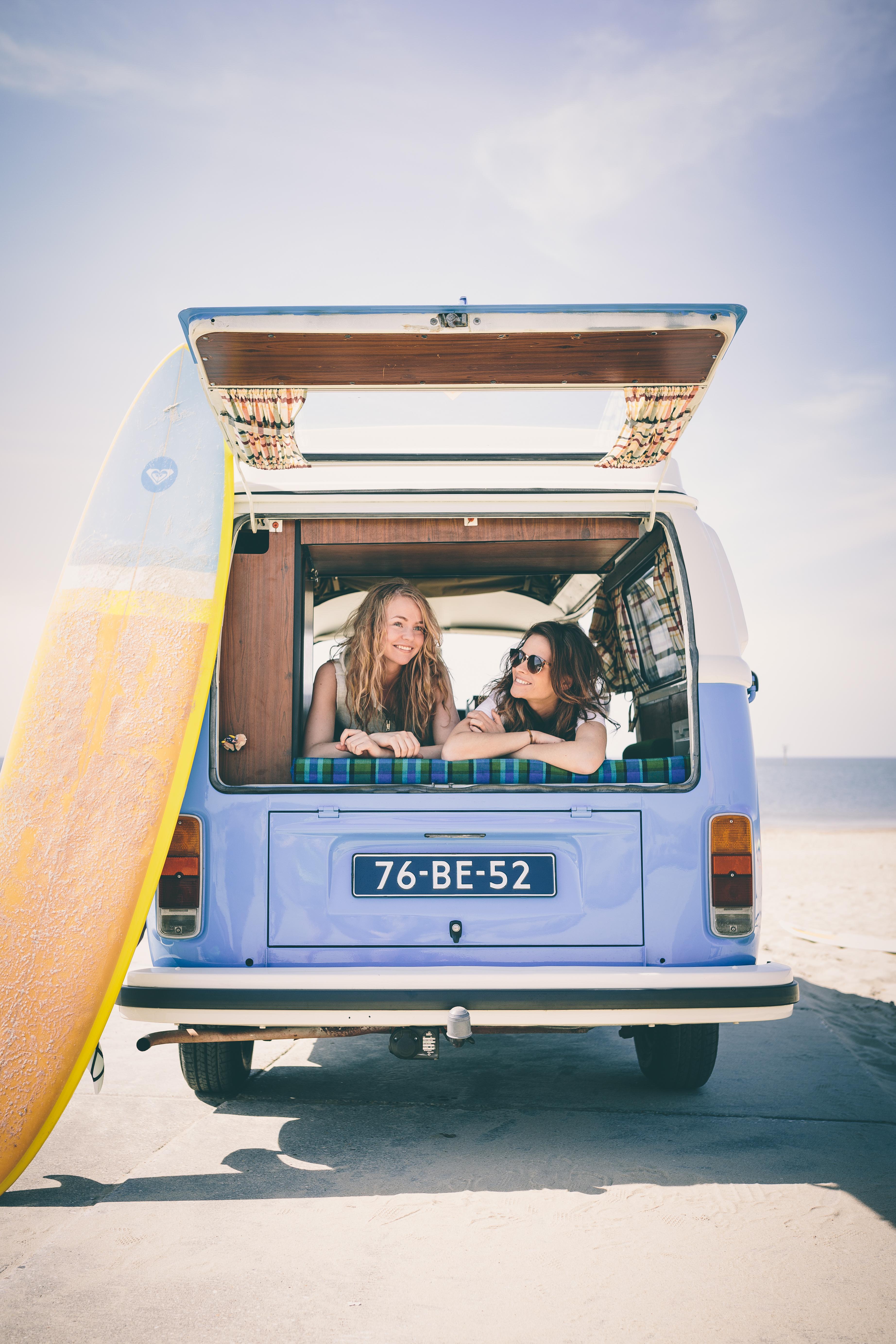 Strand shoot - surfbusje