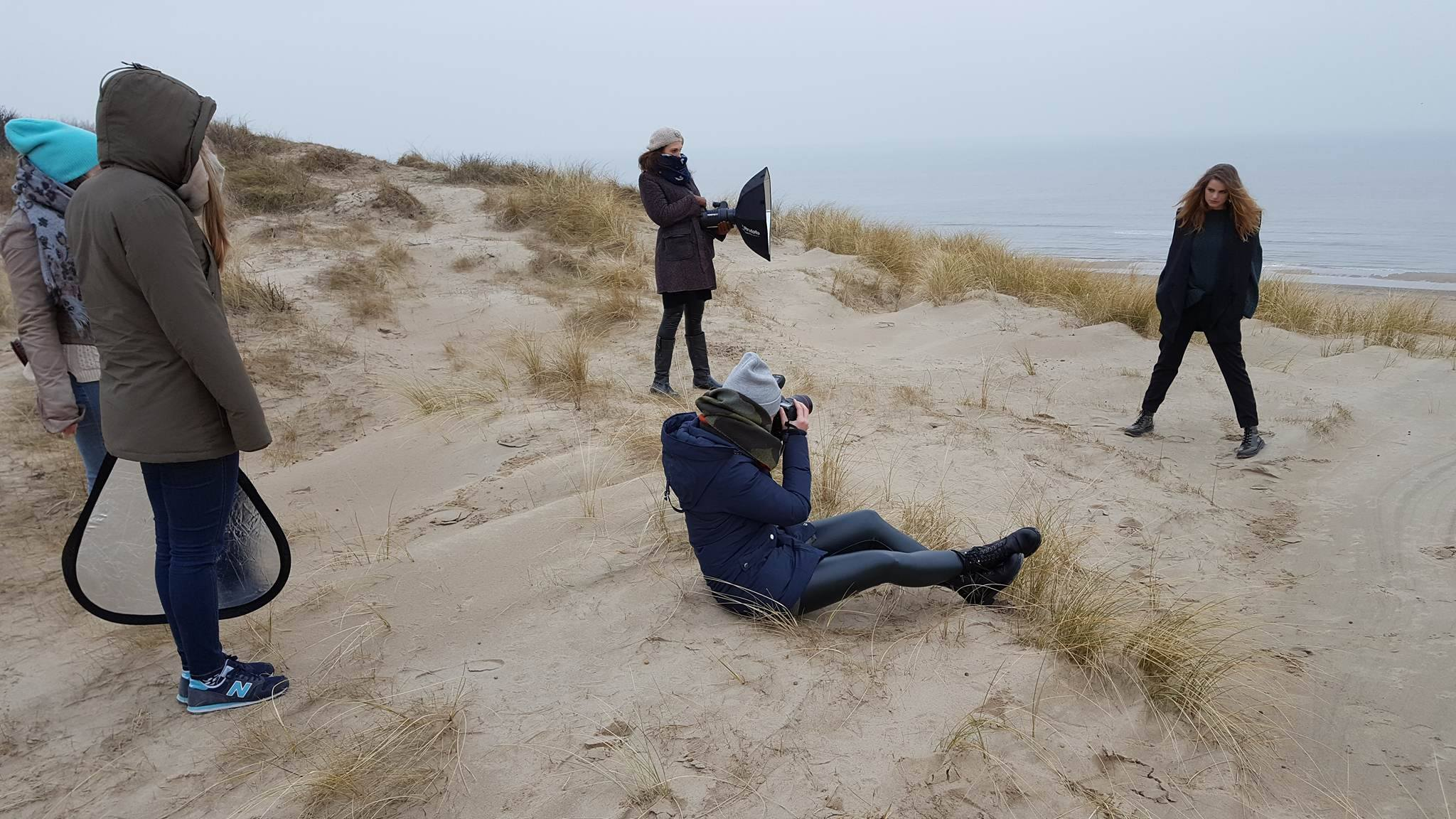 Behind the scene - Mountain shoot Zandvoort