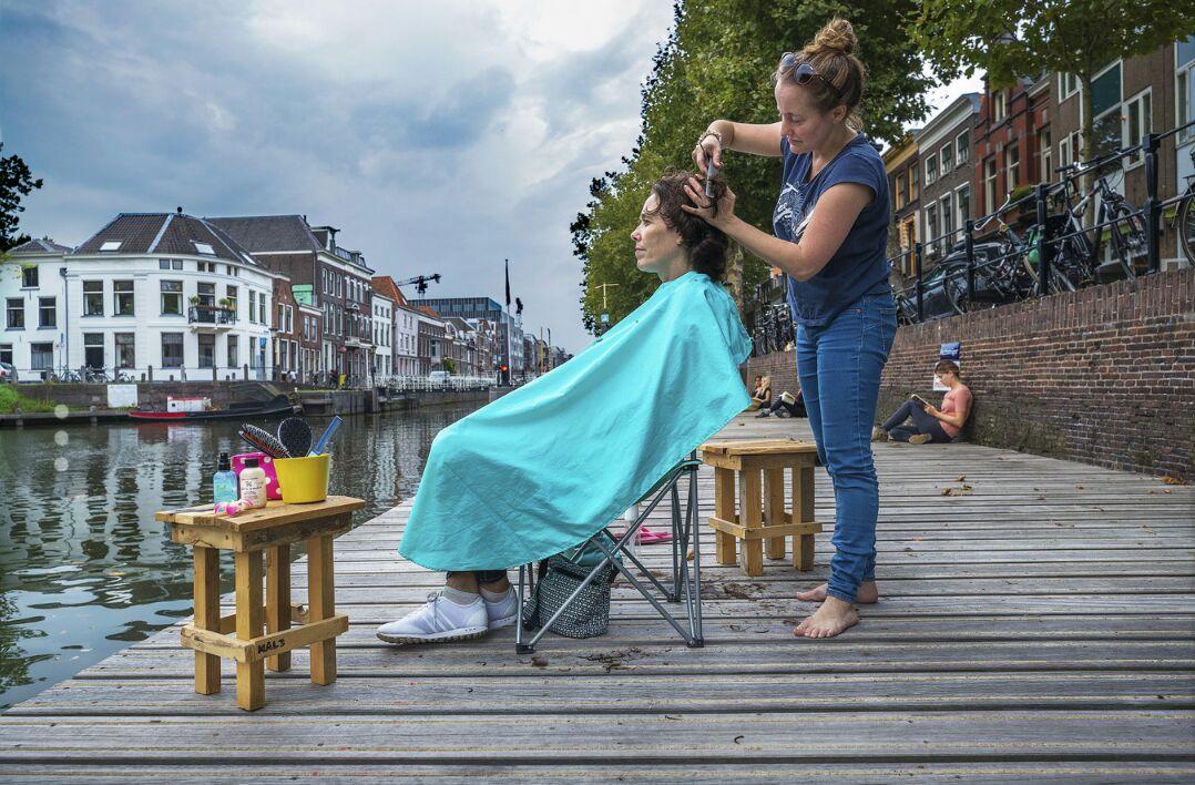 Grachtenkapper - interview AD Utrechts Nieuwsblad